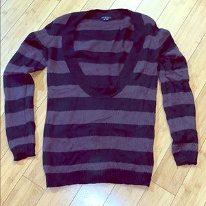 Striped Sweater. Medium.
